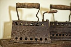 Antique Iron Royalty Free Stock Photo