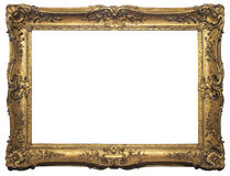 Antique Isolated Picture Frame Stock Photos