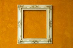 Antique ivory frame Royalty Free Stock Photography