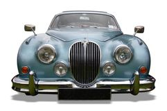 Antique Jaguar vehicle Royalty Free Stock Photography