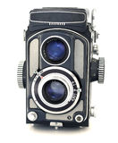 Antique Japanese TLR Camera Royalty Free Stock Image