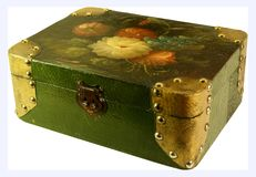 Antique jewel box Stock Image