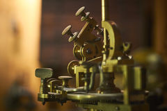 Antique jewelery making device Royalty Free Stock Photos