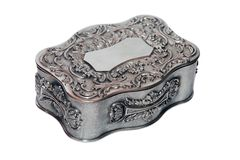 Antique Jewellery Box Royalty Free Stock Image