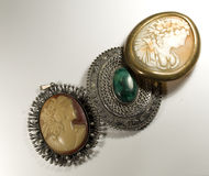 Antique jewelry Royalty Free Stock Photography