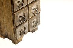 Antique jewelry box base Stock Photography