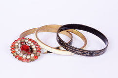 Antique jewelry Royalty Free Stock Images