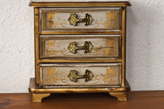 Antique Jewelry Chest Royalty Free Stock Photos