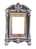 Antique judaic classic frame. isolated on white Stock Image