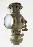 Antique Kerosene Lantern Stock Photo