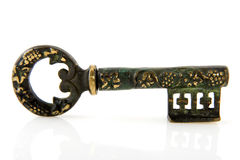 Antique key Royalty Free Stock Photo