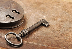 Antique key Stock Images