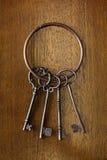 Antique key Royalty Free Stock Photos