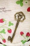 Antique key Royalty Free Stock Image