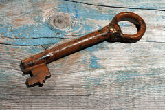 Antique key Royalty Free Stock Images