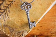 Antique Key Royalty Free Stock Image