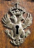 Antique keyhole Royalty Free Stock Image