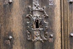 Antique Keyhole Stock Photography