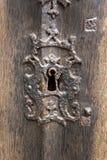 Antique Keyhole Royalty Free Stock Photos