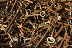 Antique-keys Royalty Free Stock Photo