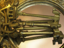 Antique keys Stock Photos