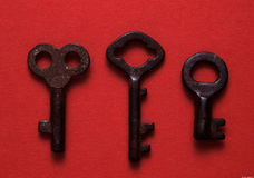 Antique keys Royalty Free Stock Photography