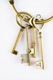 Antique keys Stock Images