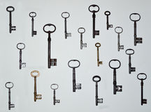 Antique Keys 19. royalty free stock images