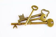 Antique keys Royalty Free Stock Photo