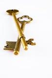 Antique keys Stock Photography