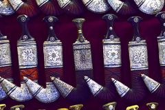 Antique Khanjar  Stock Image