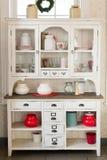 Antique kitchen cabinet Stock Images