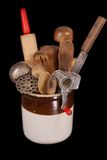 Antique Kitchen utensils Royalty Free Stock Photography