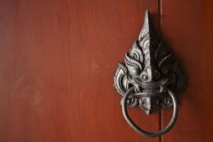 Antique knocker Royalty Free Stock Image