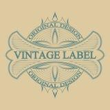Antique label, vintage frame design, retro logo. Vintage label, antique frame design, typography, retro logo template,vector illustration Stock Image