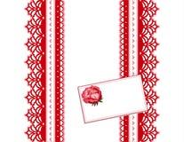 antique lace present Στοκ Εικόνα