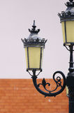 antique lamp post Στοκ φωτογραφίες με δικαίωμα ελεύθερης χρήσης