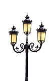 Antique lamp post Royalty Free Stock Photos