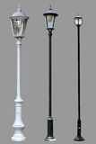 Antique Lamp Post Lamppost Street Road Light Pole Royalty Free Stock Photo