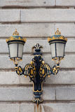 Antique lamp post Royalty Free Stock Images