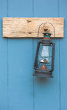 Antique lamp on the wall Stock Photo