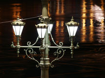 Antique lamppost Stock Photography