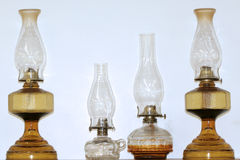 Antique lamps Royalty Free Stock Photos