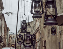 Antique lamps Royalty Free Stock Photo