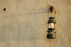 Antique lantern in dubai Royalty Free Stock Photography