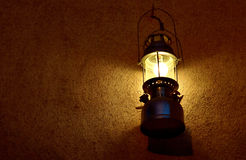 Antique Lantern. At Sharjah heritage area Stock Image