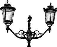 Antique lantern Stock Image