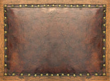 Antique leather background. Grunge texture Stock Photography
