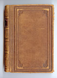 Antique Leather Book Cover Stock Photography