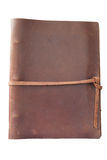 Antique leather book cover Stock Images